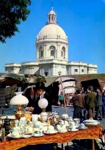 LISBOA - Feira da Ladra e Panteão Nacional