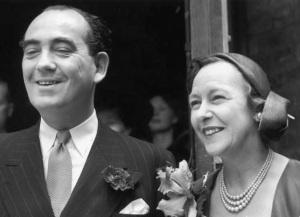 tom-driberg-marries-ena-binfield-1951